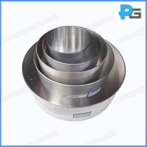 Unpolished Aluminum Standard Cooking Test Vessels