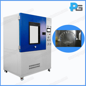 IPX3 and IPX4 Sprayproof and Splashproof Test Chamber